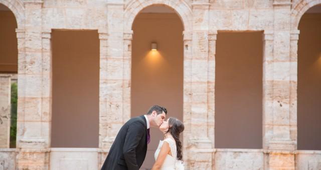 Una boda de diez en La Cartuja
