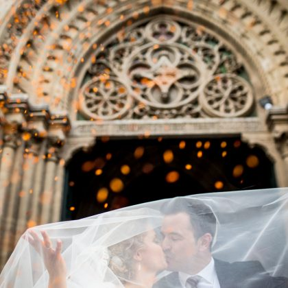 Una boda con mucho ritmo