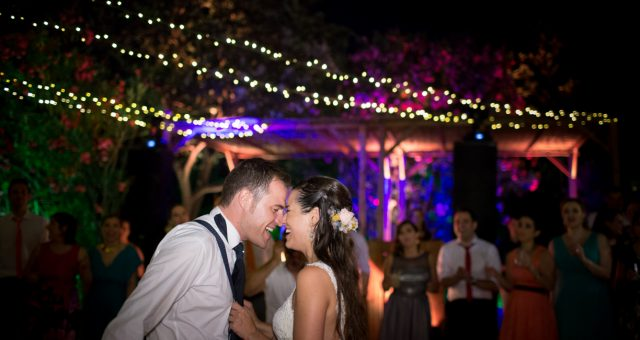 Una boda convertida en fiesta