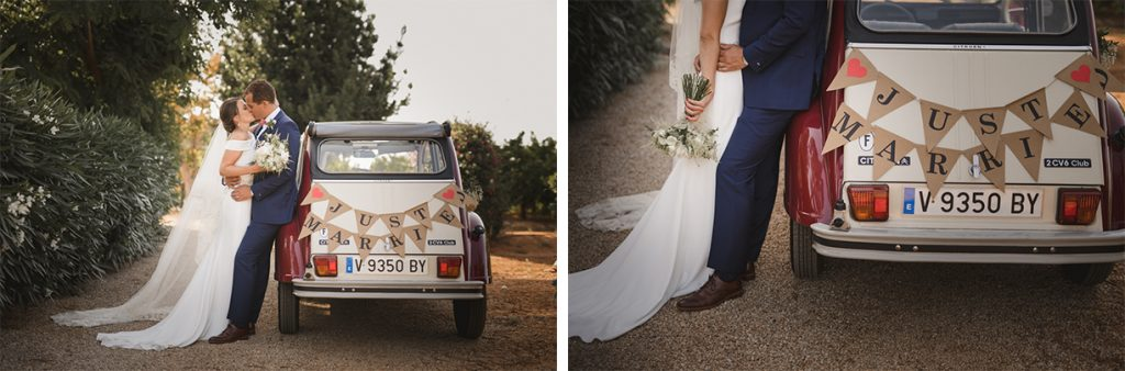 Coche just married